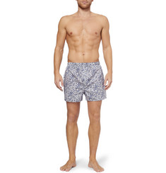 Sunspel Paisley-Print Cotton Boxer Shorts