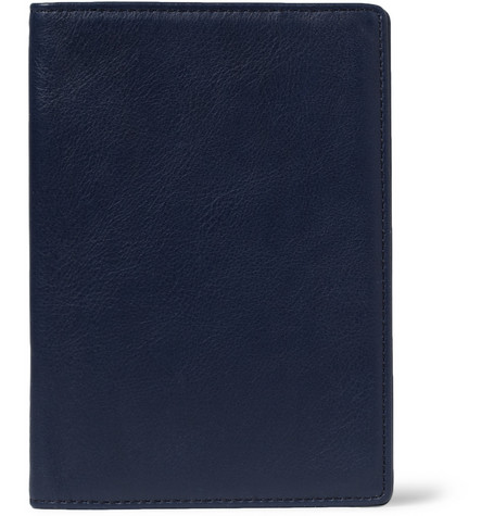 WANT Les Essentiels de la Vie Pearson Leather Passport Cover