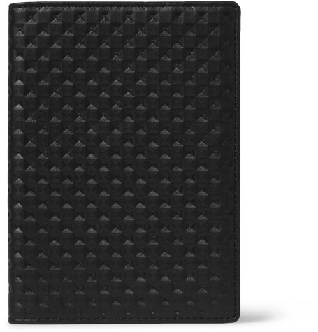 WANT Les Essentiels de la Vie Pearson Embossed Leather Passport Cover