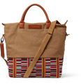 WANT Les Essentiels - O'Hare Leather-Trimmed Canvas Tote Bag