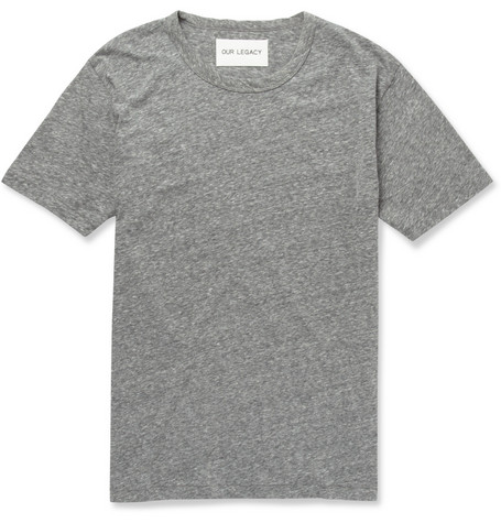 Our Legacy Perfect Slub Cotton-Blend Jersey T-Shirt