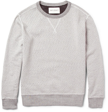 Our Legacy Reversible Cotton-Jersey Sweatshirt