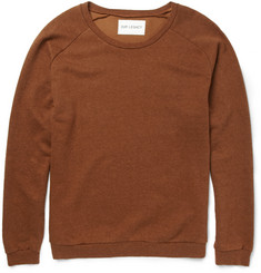 Our Legacy Great Cotton and Silk-Blend Jersey Sweatshirt
