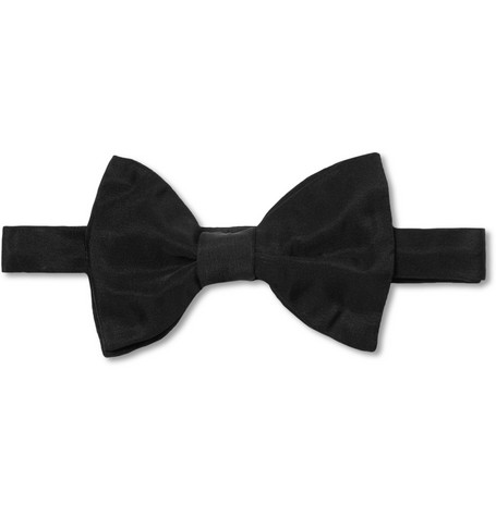 Lanvin New Alber Silk-Grosgrain Bow Tie