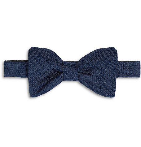 Lanvin New Alber Silk-Grenadine Bow Tie