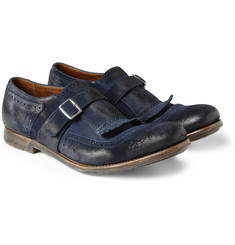 Church's Shanghai Suede Monk-Strap Shoes