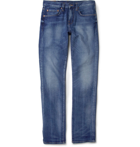 J Brand Kane Slim-Fit Washed-Denim Jeans