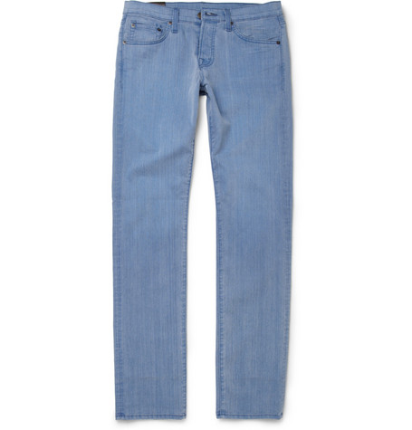 J Brand Tyler Slim-Fit Washed-Denim Jeans