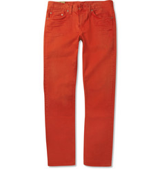 J Brand Kane Slim-Fit Garment-Dyed Denim Jeans