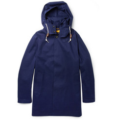 Mackintosh Dunoon Handmade Hooded Bonded-Cotton Rain Coat