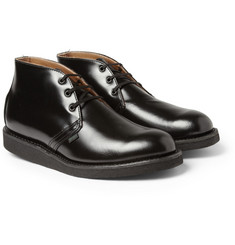 Red Wing Shoes High-Shine Wedge Leather Boots