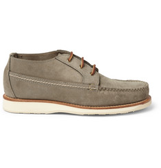 Red Wing Shoes Rubber-Soled Suede Chukka Boots