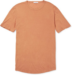 James Perse Twisted-Hem Cotton-Jersey T-Shirt