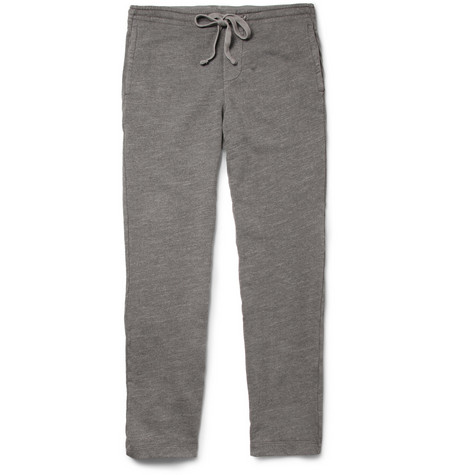 James Perse Loopback Cotton-Blend Jersey Sweatpants