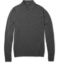 John SmedleyDorset Merino Wool Polo Shirt