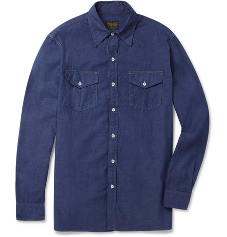 Jean Shop Cotton-Chambray Shirt