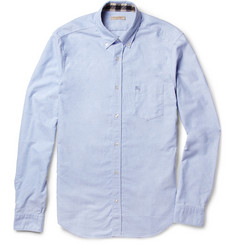 Burberry Brit Button-Down Collar Cotton Oxford Shirt