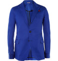 Oliver Spencer - Blue Portland Cotton-Twill Suit Jacket
