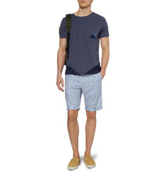 Oliver Spencer Slim-Fit Printed Cotton Shorts