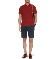 Oliver Spencer Jet Slim-Fit Linen-Blend Shirt