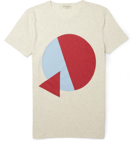 Oliver Spencer Printed Cotton T-Shirt