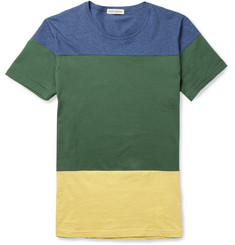 Oliver Spencer Panelled Cotton T-Shirt