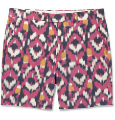 Hentsch Man Newport Printed Cotton Shorts