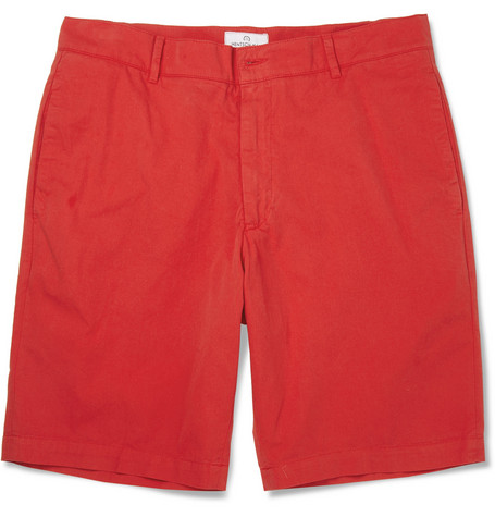 Hentsch Man Straight-Leg Cotton Shorts