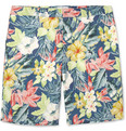 Hentsch Man - Hawaiian-Print Cotton Shorts