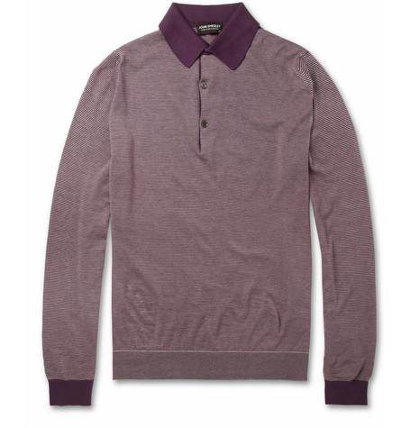 John Smedley polo shirt - what to wear dating - personal shopping/styling men