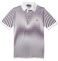 John Smedley Motson Striped Sea Island Cotton Polo Shirt