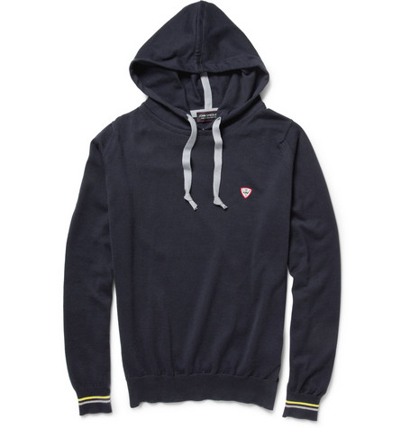 John Smedley Carpenter Knitted Sea Island Cotton Hoodie