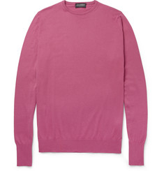 John Smedley Lyndhurst Sea Island Cotton Sweater