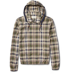 YMC Plaid Bomber Jacket