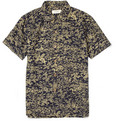 YMC - Printed Silk-Blend Short Sleeved Shirt