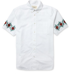 YMC Embroidered Cotton Shirt