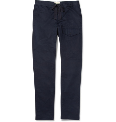 YMC Linen and Cotton-Blend Trousers