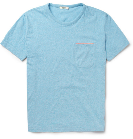 YMC Slit-Pocket Cotton-Jersey T-Shirt