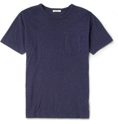YMC Flecked Cotton-Jersey T-Shirt