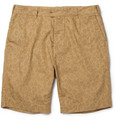 YMC - Slim-Fit Leopard-Print Cotton Chino Shorts