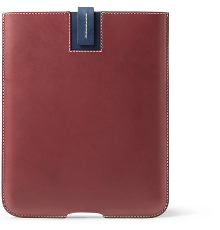 Bill Amberg Hunter Leather iPad Sleeve