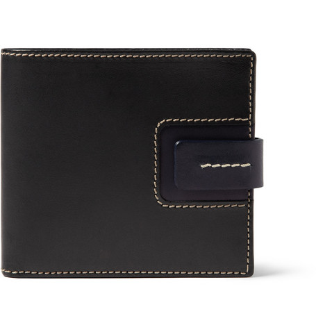 Bill Amberg Hunter Leather Billfold Wallet