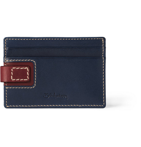 Bill Amberg Hunter Leather Card Holder