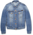 Nudie Jeans Perry Organic Washed-Denim Jacket
