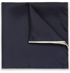 Drake's - Silk-Twill Pocket Square