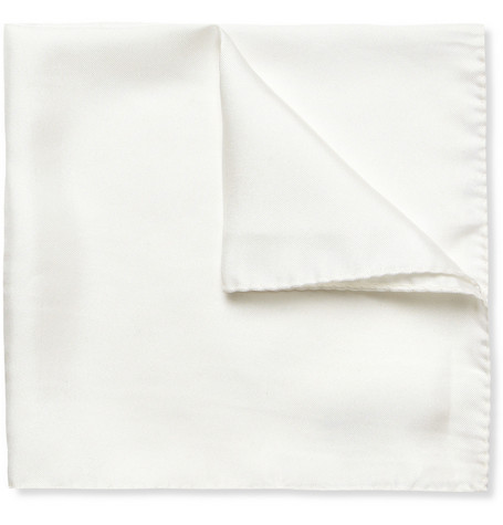 Drake's Silk-Twill Pocket Square