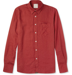 Billy Reid Walland Linen Shirt