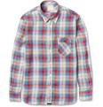 Billy Reid - Walland Plaid Linen Shirt