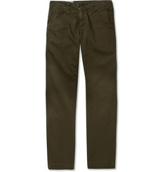 Billy Reid Jack Straight-Leg Washed-Cotton Chinos