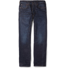 Levi's Vintage Clothing 1947 501 Washed Straight-Leg Selvedge Denim Jeans